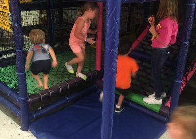 Kids enjoying the play area
