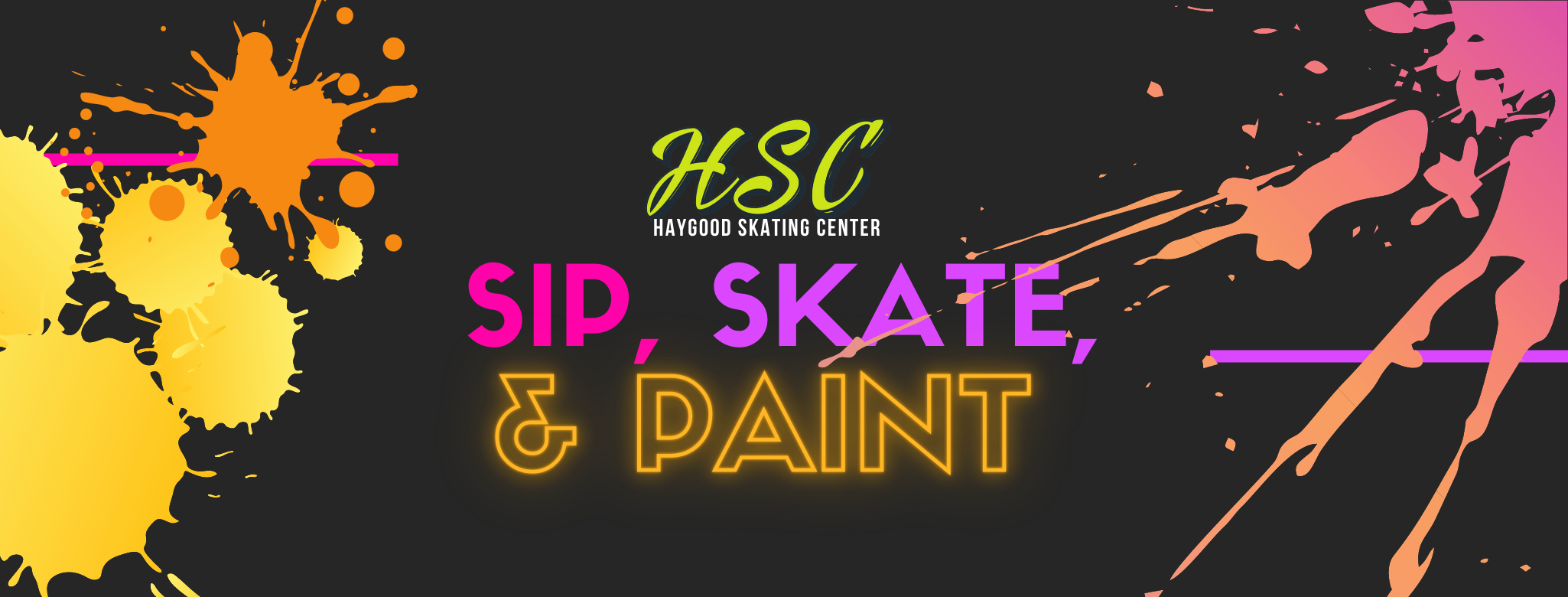 Sip, Skate, & Paint Cover Photo