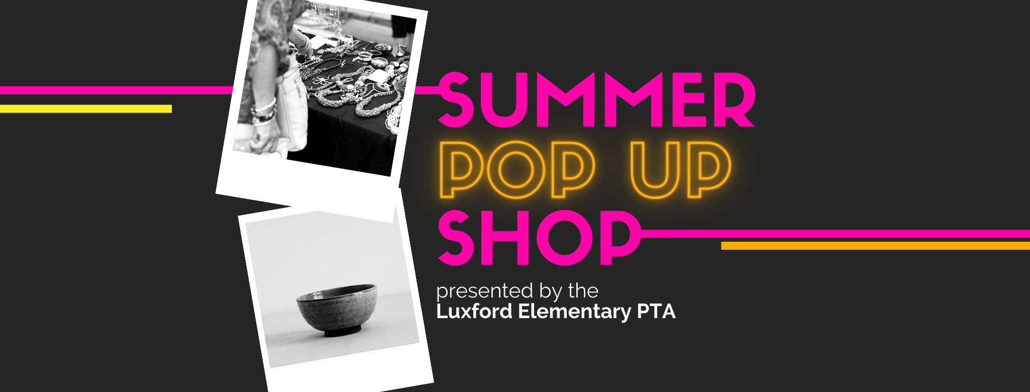 Luxford Summer Pop Up Shop Cover Photo