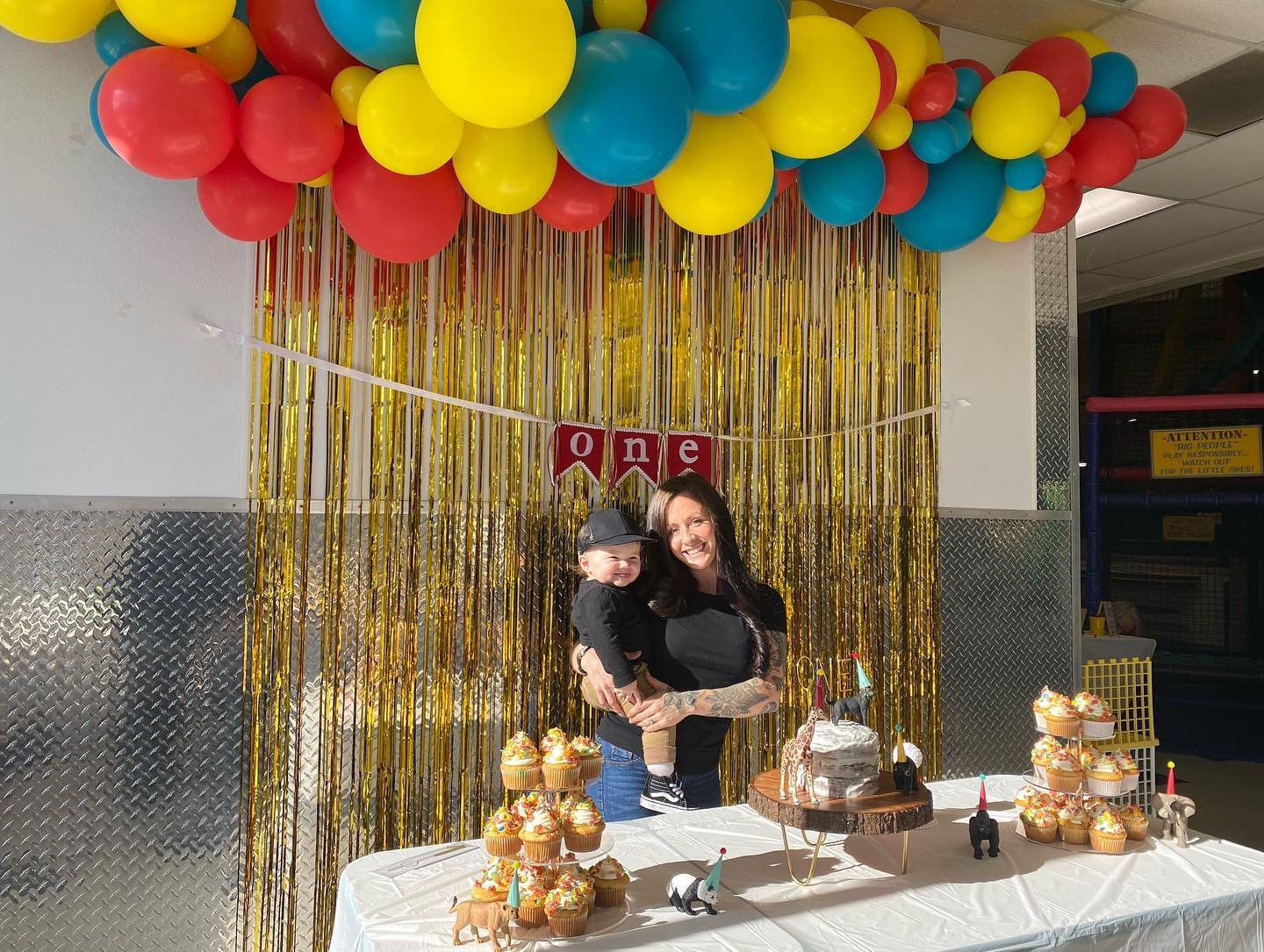 One year olds birthday party